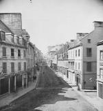 Photograph: Québec, Saint-Jean and Couillard streets, ca. 1868-1871.