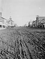 Photo : Strathcona (Alberta) ville fusionnée avec Edmonton, 1912.