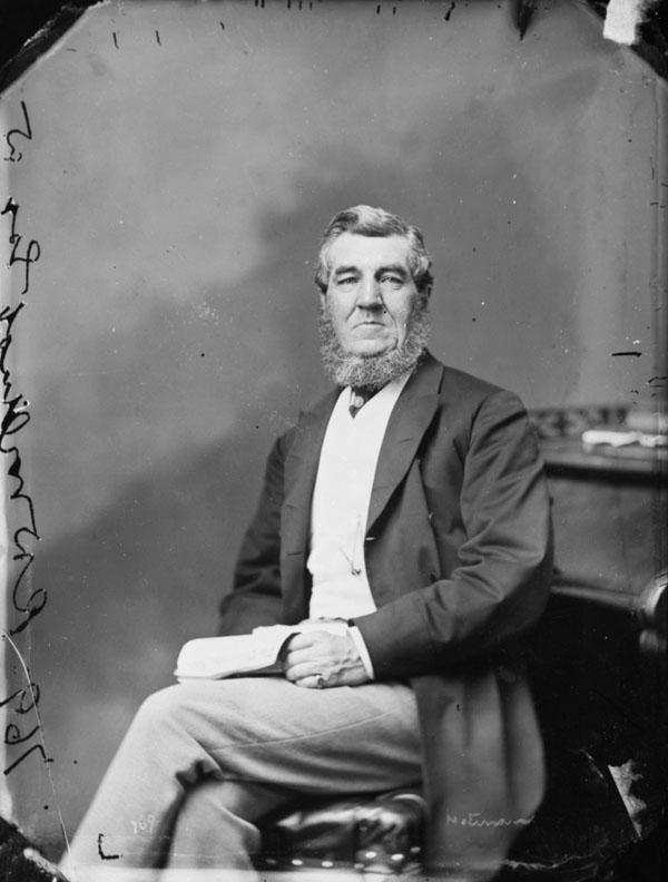 Photo : L'honorable Robert Duncan Wilmot, mai 1868