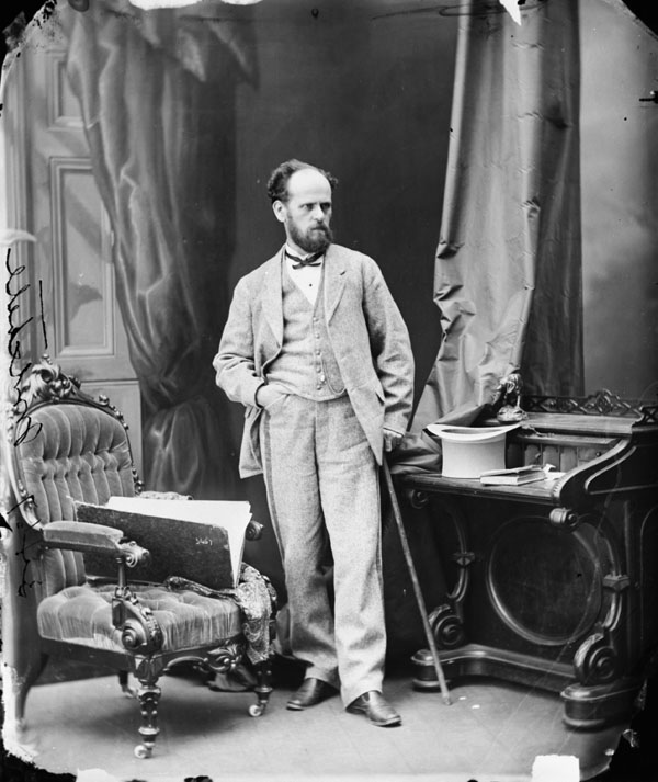 Photo : L'honorable Peter Mitchell, juillet 1869