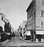 Photograph: Québec, Saint-Jean Street, ca. 1860-1865.