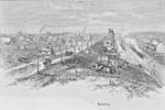 Woodcut: Brandon, 1886