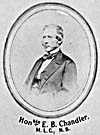 Photograph of Edward B. Chandler, circa 1864