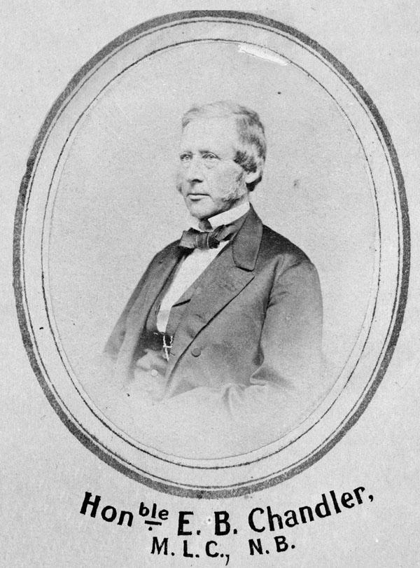 Photo d'Edward B. Chandler, vers 1864