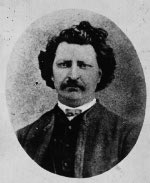 Photo : Louis Riel, entre 1879 et 1885