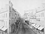 Photograph: Québec, Saint-Jean Street, ca. 1865.