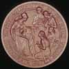 Artifact: Confederation Medal - reverse (female figure with axe)