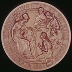Photograph: Confederation Medal (reverse), 1867.