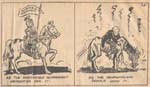 Caricature: Two Views of Responsible Government, The Confederate, April 14, 1948.