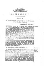 Document: An Act to establish and provide for the government of the Province of Alberta