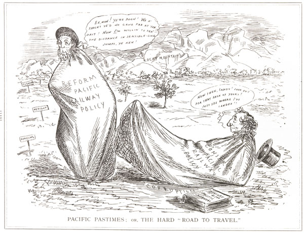 Caricature, PACIFIC PASTIMES