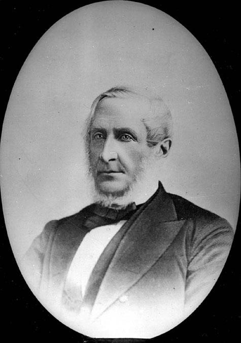 Photo : l'honorable Edward Palmer