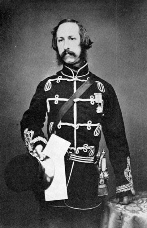 Photo : L'honorable Arthur Hamilton Gordon, 1856