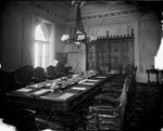 Photograph of the Privy Council Chamber from 1878-1882, in the Parliament Buildings
