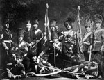 Photograph of the Governor General's Foot Guards, circa 1875