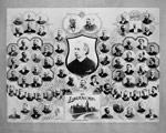 Group of small photographs of Liberal members of Parliament, 1893