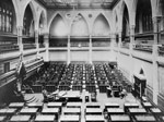 Photograph of the interior of the House of Commons, pre-1916