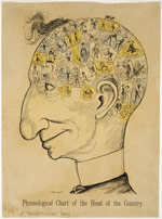 Caricature de sir John A. Macdonald, 1887
