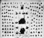 Group of small photographs of the Conservative members of the House of Commons, 1892