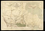 Carte intitulée GENERAL MAP OF PART OF THE NORTH-WEST TERRITORIES INCLUDING THE PROVINCE OF MANITOBA SHEWING DOMINION LAND SURVEYS TO 31 DECEMBER 1882
