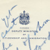 Draft radio address for the Minister of Citizenship and Immigration, RG 26, series A-1-b, volume 92, file 3-5-b, 17 pages
