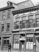 Photograph of the legal offices on Clarence Street in Kingston, Ontario, where Sir John A. Macdonald practised, n.d.