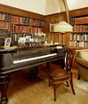Library - Northeast corner, King�s mothers piano