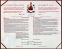 Image of the Proclamation of the CONSTITUTION ACT, 1982, a document recognizing certain fundamental rights and freedoms as part of Canada's patriated Constitution, April 17, 1982