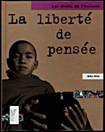 Cover of a book by Mike Hirst entitled LA LIBERTÉ DE PENSÉE, 2000