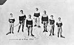 Photo de l'équipe de hockey de Renfrew, en 1907