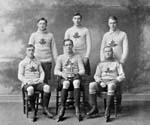 Photo de l'équipe canadienne de hockey d'Oxford de 1909-1910
