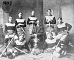 Team photograph, Metcalfe Hockey Club, 1907
