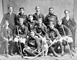 Team photograph of members of the Avondale Hockey Club, 1901-1902