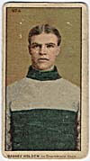 Photo d'une carte de hockey de Barney Holden, vers 1910-1912