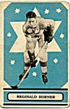 Carte de hockey de Reginald Horner (1933-1934)
