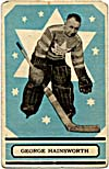 Carte de hockey de George Hainsworth (1933-1934)