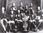 Photo des membres de la Montreal Amateur Athletic Association, en 1893