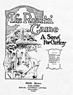Cover page of the sheet music for the song THE ROARIN' GAME