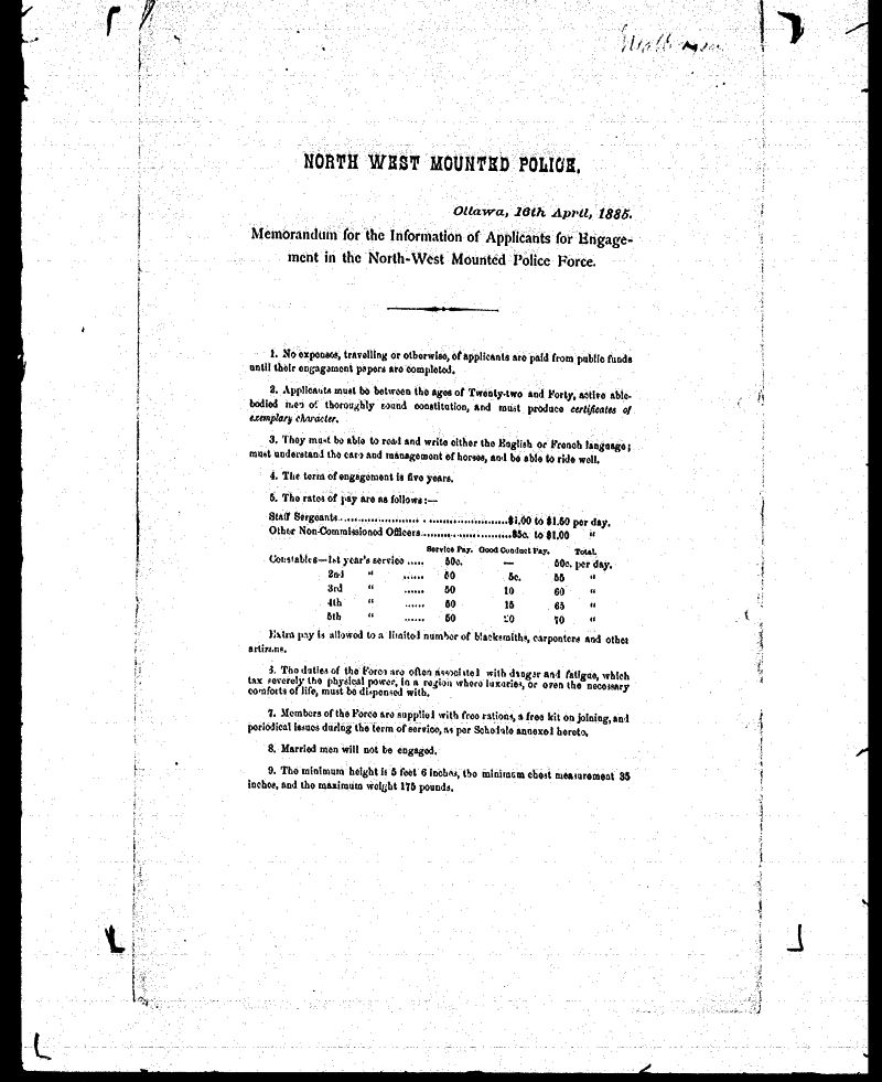 Digitized page of NWMP for Image No.: sf-01280.0006-v7