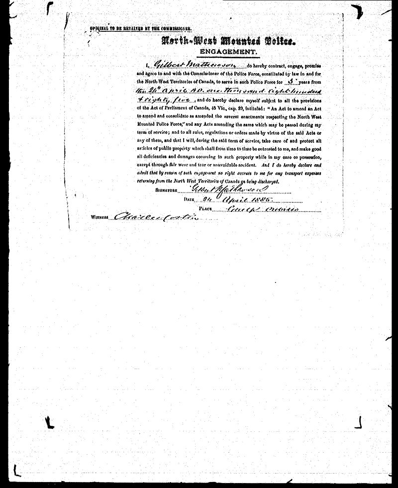 Digitized page of NWMP for Image No.: sf-01280.0008-v7