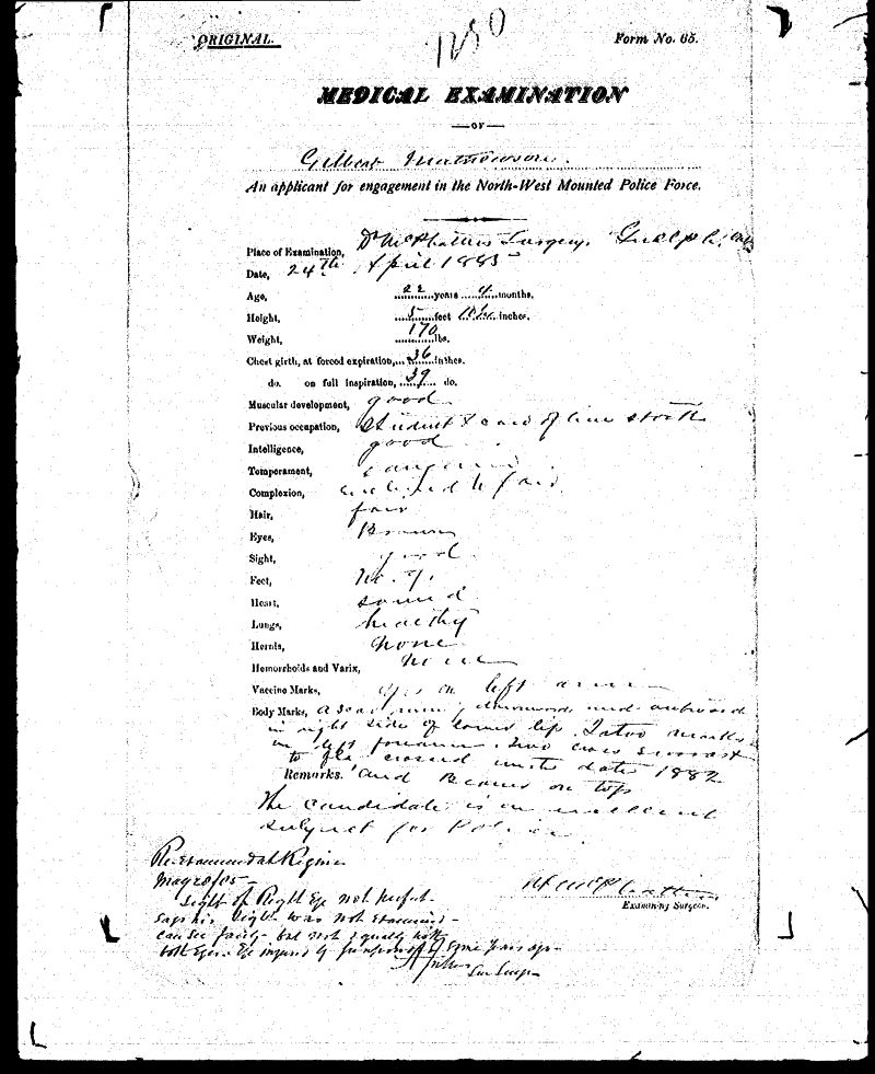 Digitized page of NWMP for Image No.: sf-01280.0011-v7