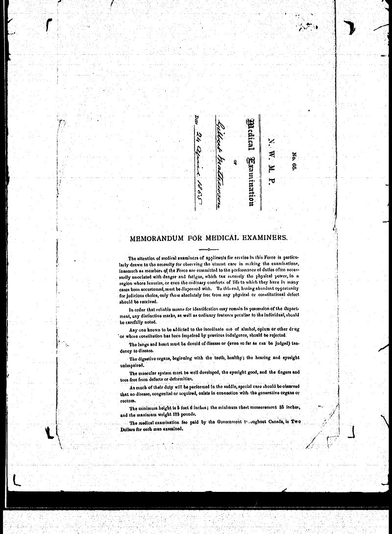 Digitized page of NWMP for Image No.: sf-01280.0013-v7