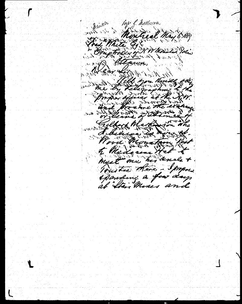 Digitized page of NWMP for Image No.: sf-01280.0020-v7