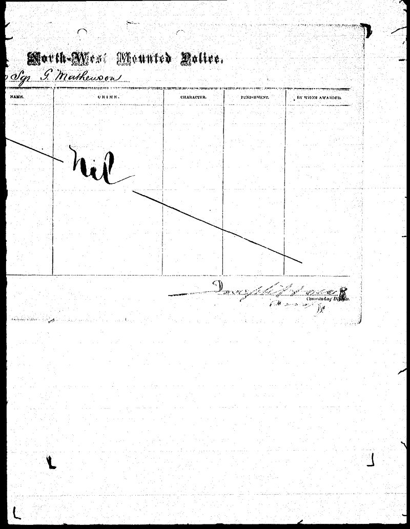 Digitized page of NWMP for Image No.: sf-01280.0034-v7