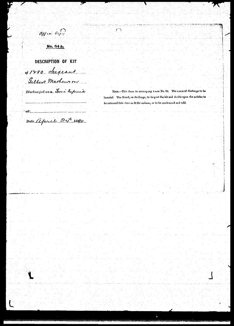 Digitized page of NWMP for Image No.: sf-01280.0039-v7