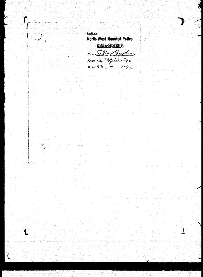 Digitized page of NWMP for Image No.: sf-01280.0047-v7