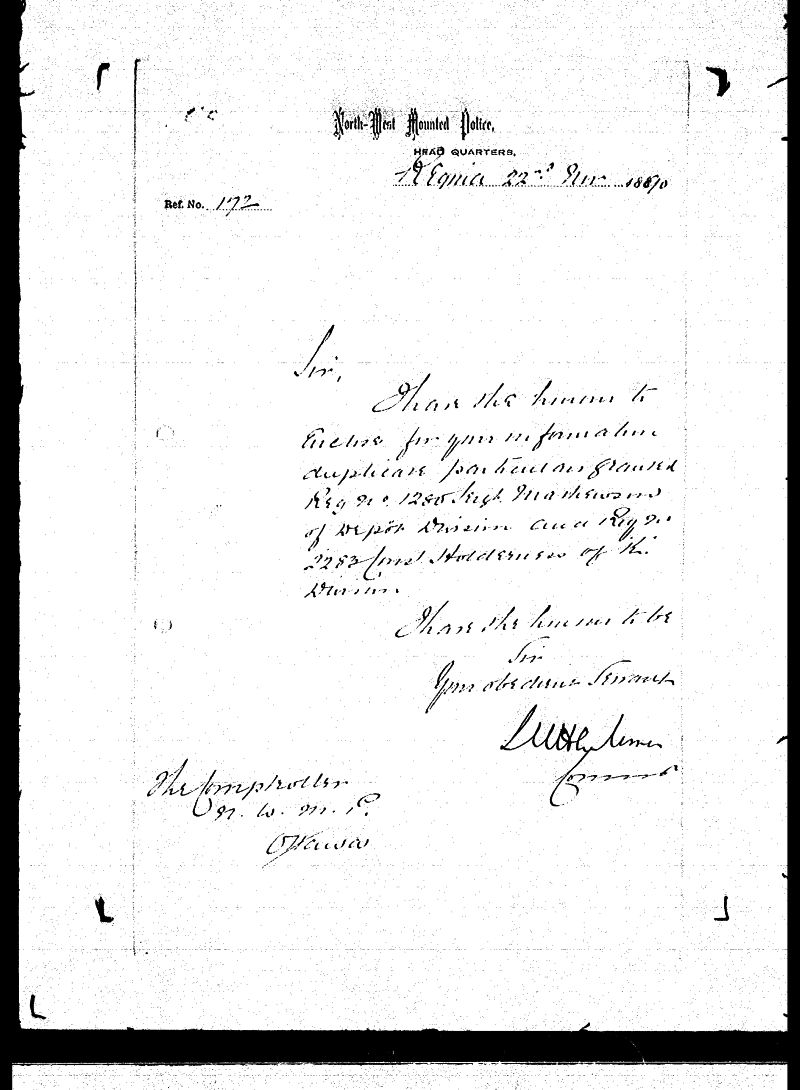 Digitized page of NWMP for Image No.: sf-01280.0048-v7
