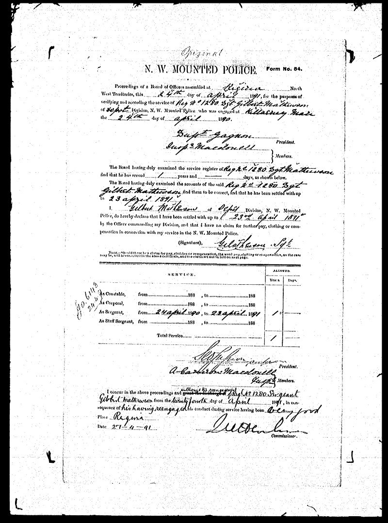 Digitized page of NWMP for Image No.: sf-01280.0050-v7