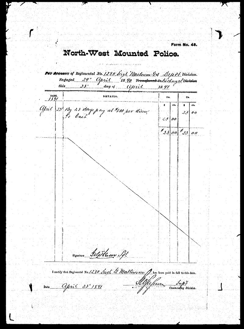 Digitized page of NWMP for Image No.: sf-01280.0056-v7