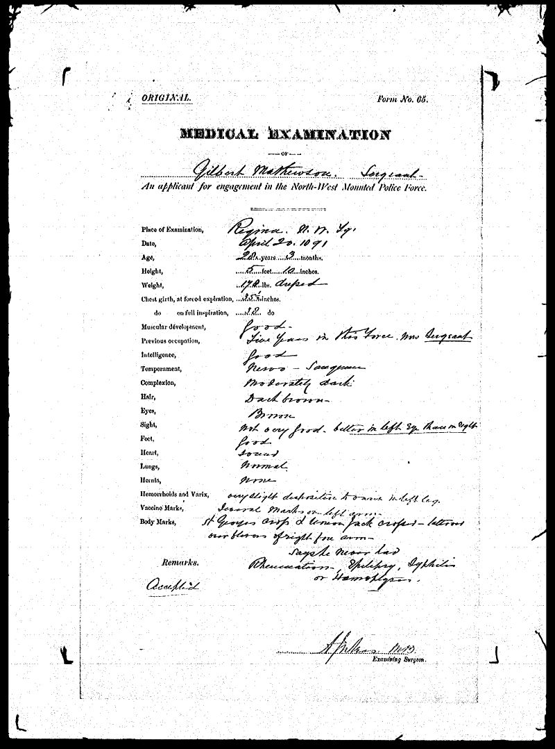 Digitized page of NWMP for Image No.: sf-01280.0058-v7